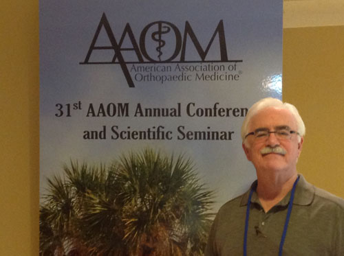 Dr. Fred Arnold at American Association Orthopedic Medicine Conference