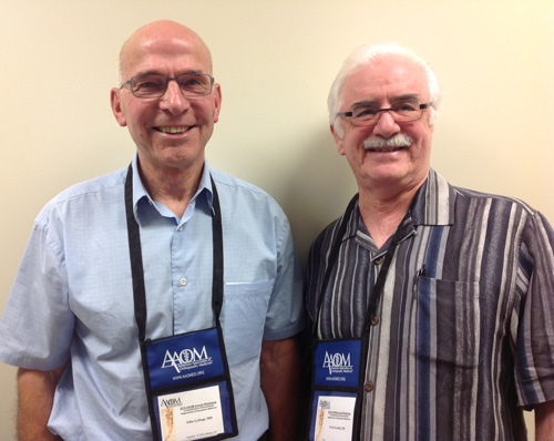 Dr. Fred Arnold attends 2015 AAOM Workshop