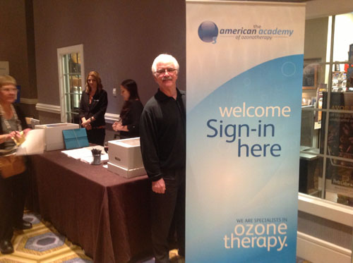 Dr. Fred Arnold attends 2015 Annual American Academy of Ozononotherapy