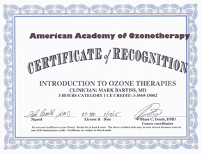 AAO Introduction to Ozone Therapies