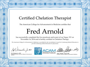 Chelation Therapist Certification