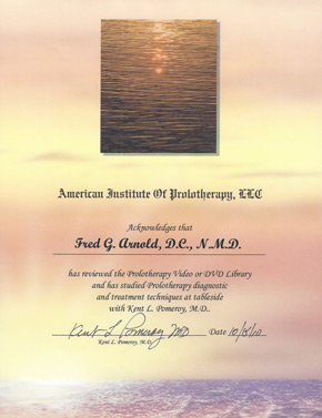 Dr. Pomeroy Certification