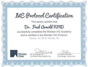 IVC Protocol Certificate