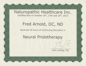 Perineural Injection Therapy Certification