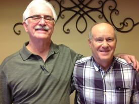 Dr. Fred Arnold and Dr. Dennis Harper
