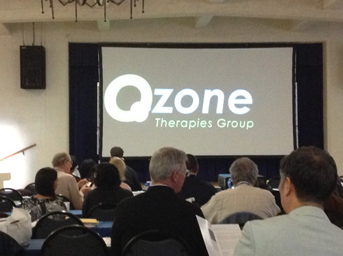 Dr. Fred Arnold attends Frontiers in Ozone Conference