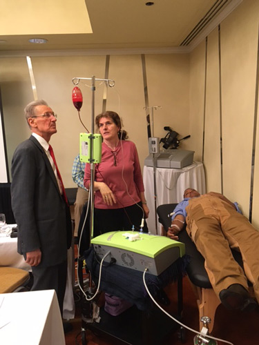 Dr. Fred Arnold attends the Ozone Master Class in San Francisco