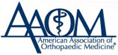 American Association of Orthopaedic Medicine Logo